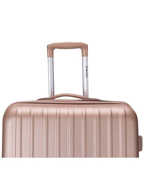 Decent Tranporto-One 55 Handbagage Koffer Zalm Roze 30L 55x33x20cm