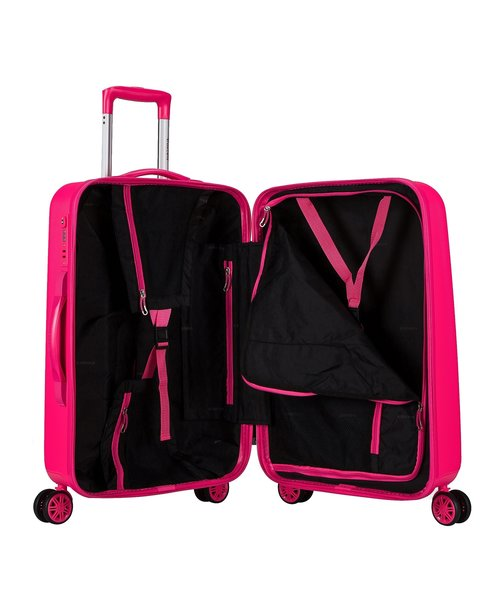 Decent Tranporto-One Kofferset Roze Inhoud 95, 60 en 30 Liter