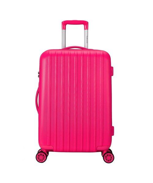 Decent Tranporto-One Koffer 76 Roze Groot 90L 75x49x31 cm