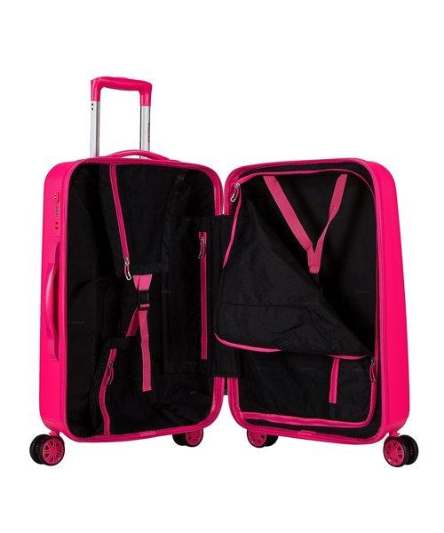 Decent Tranporto-One Koffer 66 Roze Medium 60L 65x42x27cm