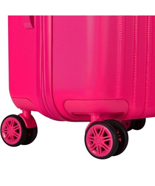 Decent Tranporto-One 55 Handbagage Koffer Roze 30L 55x33x20cm