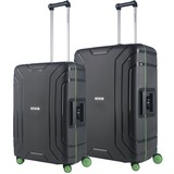 CarryOn Steward Kofferset Tsa Dark Grey 100 en 70 Liter