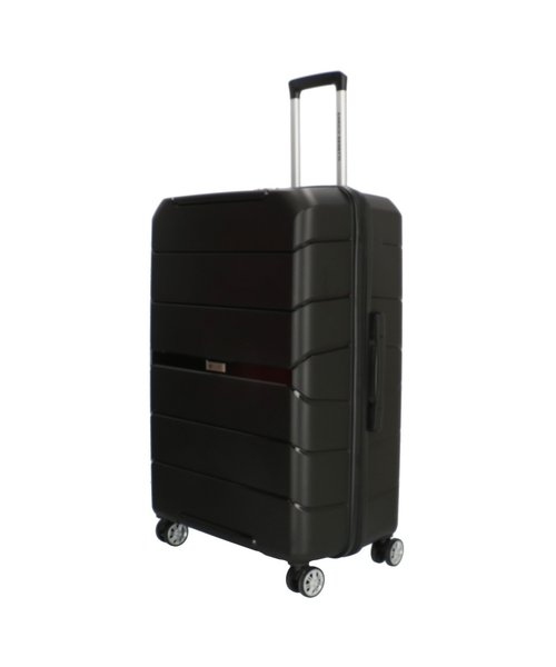 Enrico Benetti Springfield Koffer Zwart 75 Groot 100 Liter