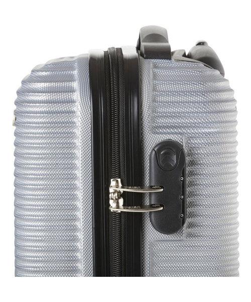 TravelZ Abs Handbagagekoffer Zilver 35L 54X34X20cm