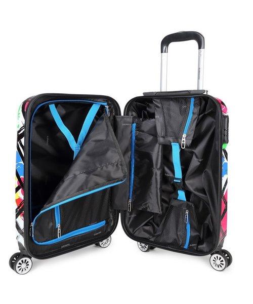 Decent Forenza Handbagage Koffer Cubes inhoud 30 Liter Afmeting 55x35x20 cm