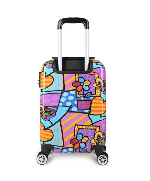 Decent Forenza Handbagage Koffer Heart inhoud 30 Liter Afmeting 55x35x20 cm
