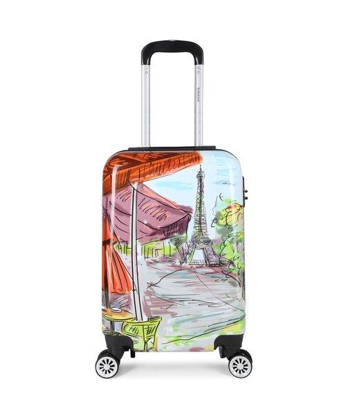 Decent Forenza Handbagage Koffer Paris inhoud 30 Liter Afmeting 55x35x20 cm