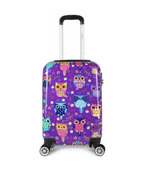 Decent Forenza Handbagage Koffer Owls inhoud 30 Liter Afmeting 55x35x20 cm