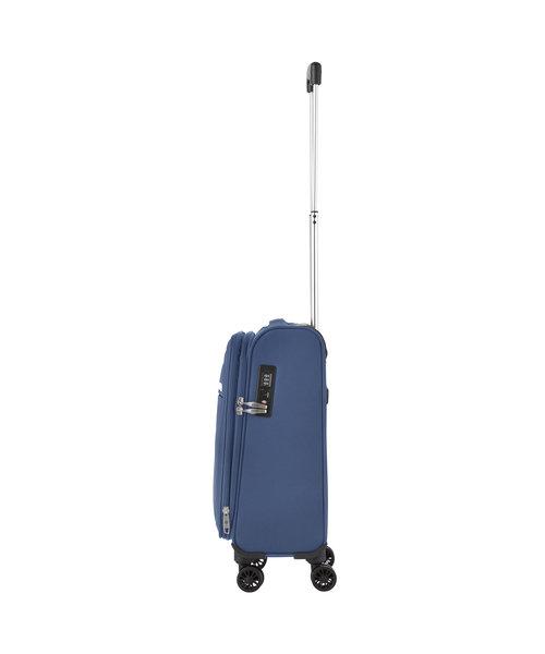 CarryOn Carryon Air Handbagagekoffer S Staal Blauw Tsa Inhoud 31 Liter met Okoban
