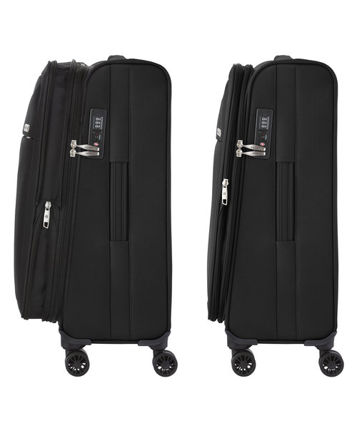 CarryOn Air Koffer 67 Zwart Medium Tsa Inhoud 60L met Okoban