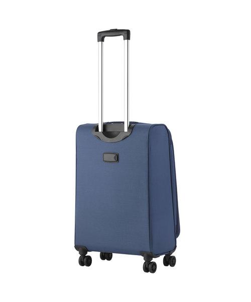 CarryOn Air Koffer 67 Staal Blauw Medium Tsa Inhoud 60L met Okoban