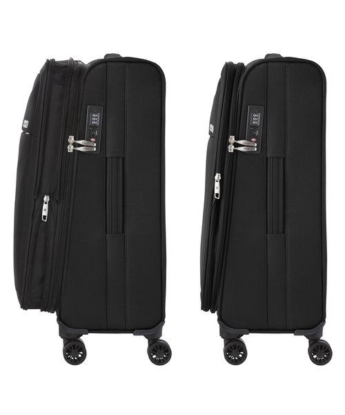 CarryOn Air Kofferset Zwart Inhoud 100, 60 en 31 Liter Model 2020