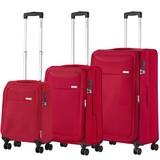 CarryOn Air Kofferset Cherry Rood Tsa Inhoud 100, 60 en 31 Liter