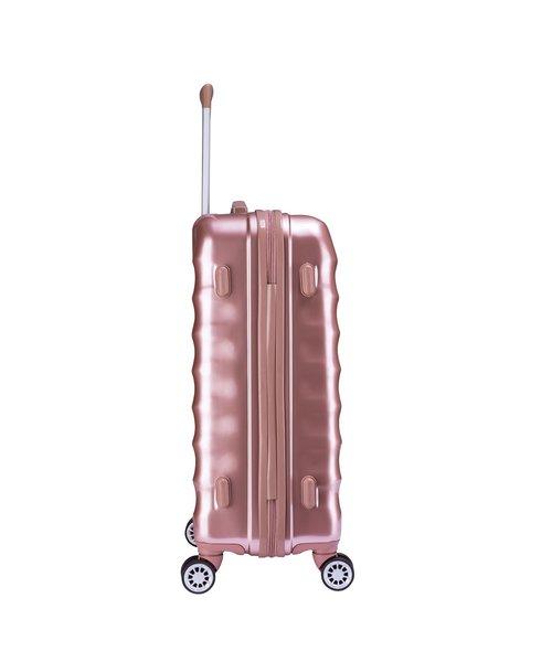 Decent Exclusivo-One Kofferset Rosé Inhoud 85, 60 en 30 Liter