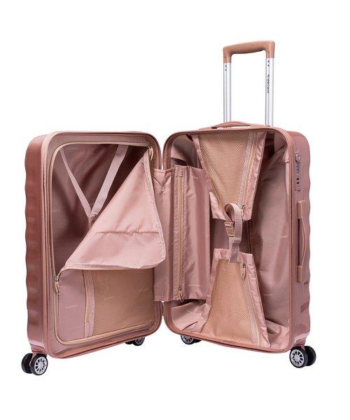 Decent Exclusivo-One Koffer Groot 77 Rosé 85 Liter
