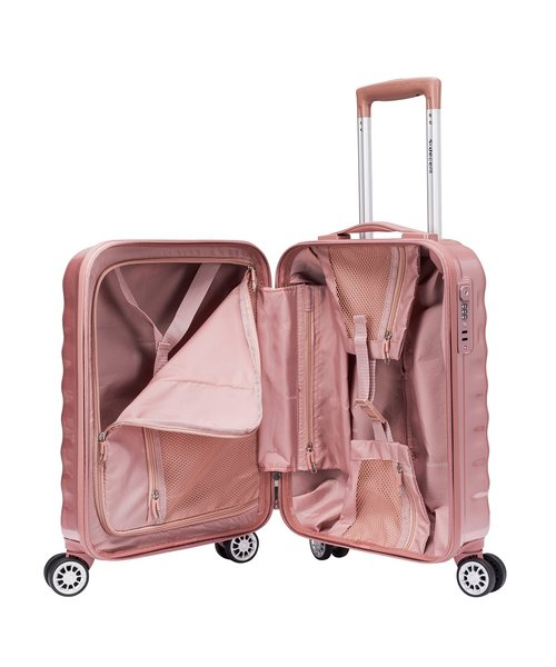 Decent Exclusivo-One Koffer Handbagage 55 Rosé 30 Liter