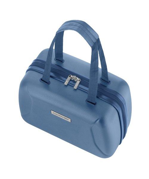 CarryOn Skyhopper Beautycase Cool Blue met Okoban