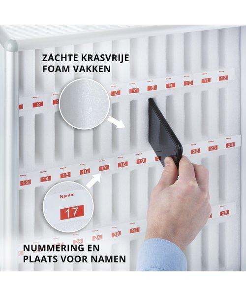 Smartphone Koffer met Opberg Systeem Mobiele Telefoons