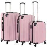 Kofferset Baby Roze Set 3 Koffers Inhoud 90, 70, 36 Liter