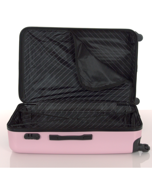 Kofferset ABS 3-delig Baby Roze