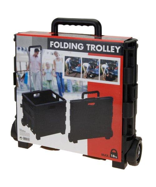 Boodschappen Trolley Opvouwbaar 30x38x30cm