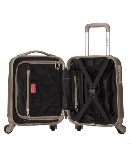 Decent Handbagagekoffer 42x32x20 cm 24 L Zalm roze
