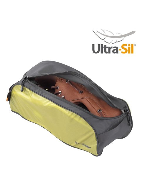 Sea To Summit Shoe Bag Small Lime, Opberg Zak Voor Schoenen