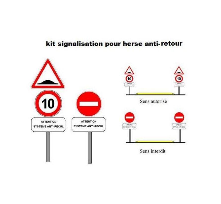 Kit de signalisation pour Herse