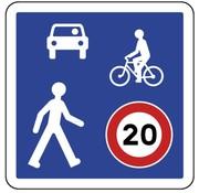 Panneau B52 Zone de rencontre