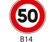 Panneaux de signalisation Type B : Interdictions