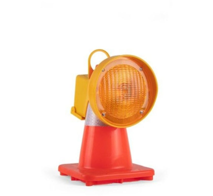 Lampe de chantier pour cônes
