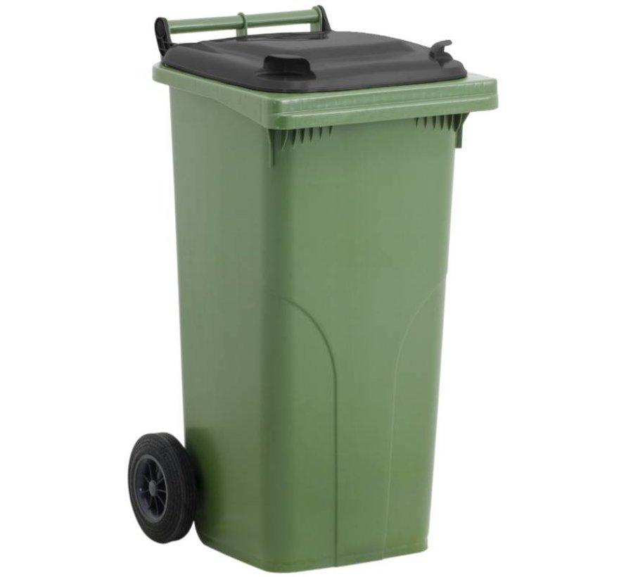 Conteneurs à déchets 120 litres cuve verte