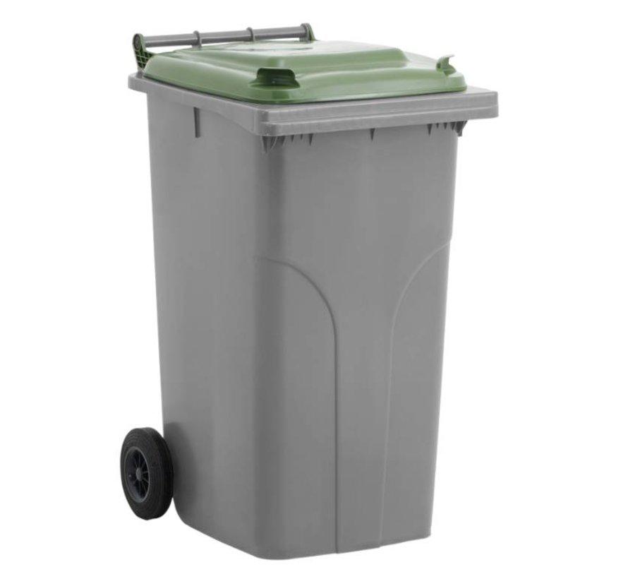 Conteneur à déchets 240 litres  cuve grise