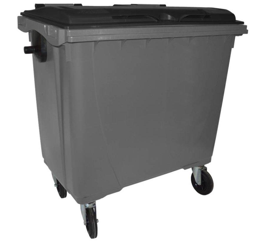 Conteneur à déchets 770 litres cuve grise