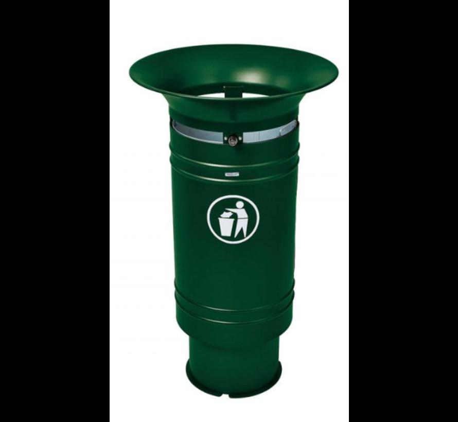 Corbeille de ville 60 litres