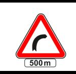 Panonceaux pour panneau triangle