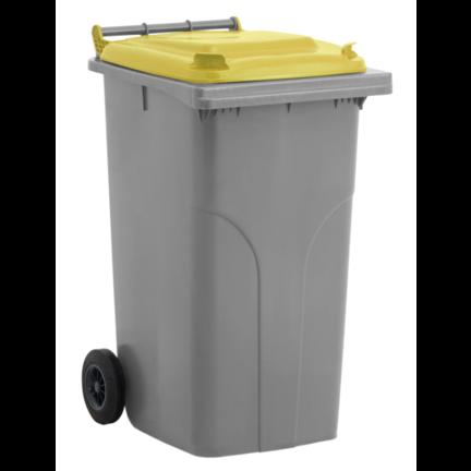 Conteneur à déchets à 2 roues