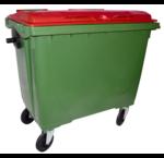 Conteneur à déchets 4 roues