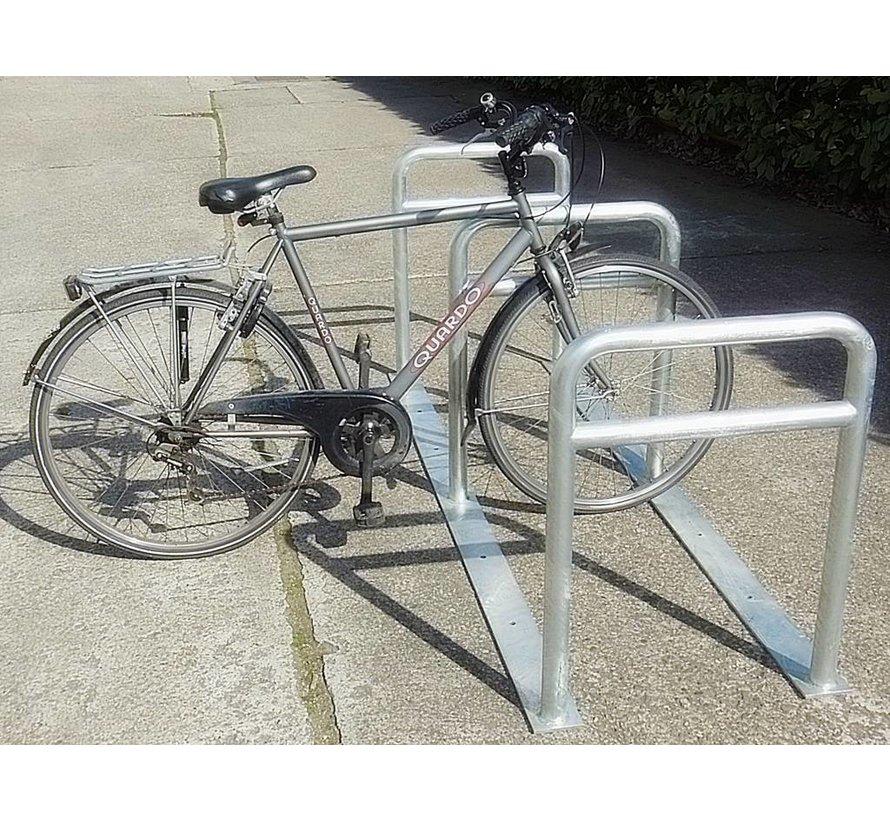 Support vélos avec 3 arceaux 2000 x 600 x 800 mm