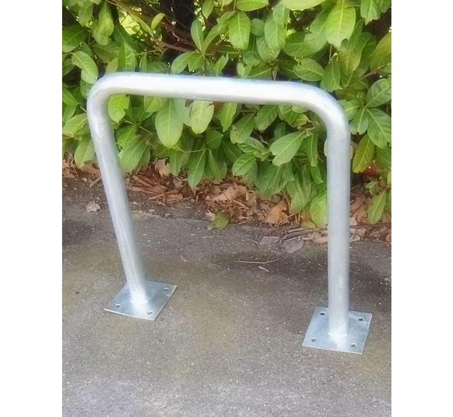 Arceau de vélos avec platine 600 x 650