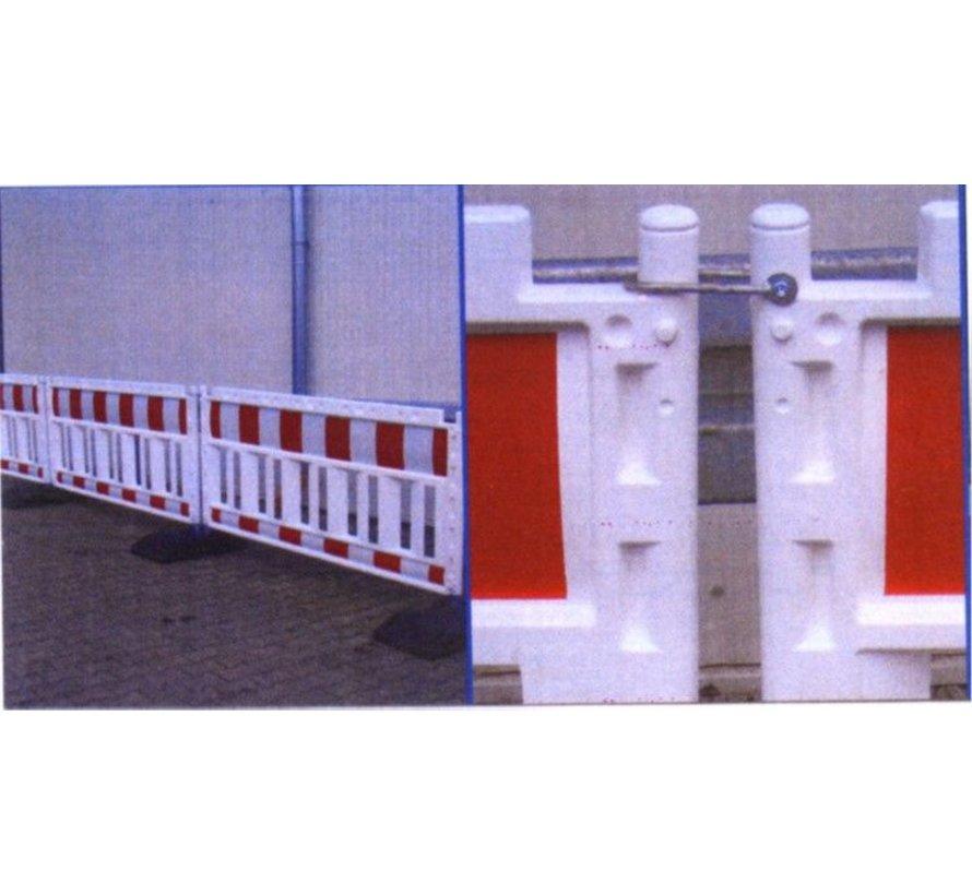 Barrière de chantier en PVC