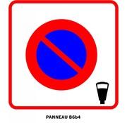 Panneau B6b4 Entrée d'une zone à stationnement payant