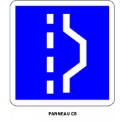 Panneau C8 Arrêt d'urgence