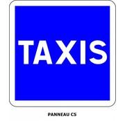 Panneau C5 Arrêt taxis en service
