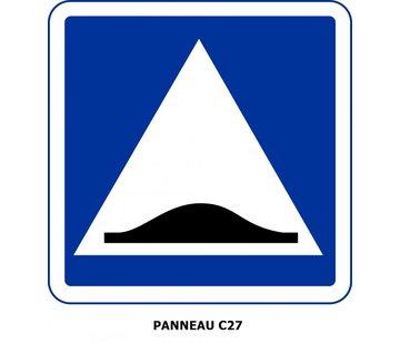 Panneau C27 Présence d'un ralentisseur