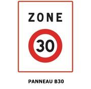 Panneau B30 Zone 30