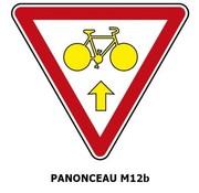Panonceau M12b (pour Feux)