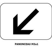 Panonceau M3a1 (pour panneau rond)