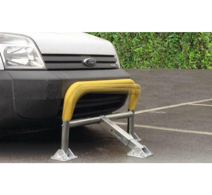 Arceau de parking à mémoire de forme