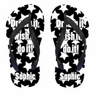 Slippers Dream it, wish it, do it